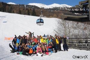 jongeren ski